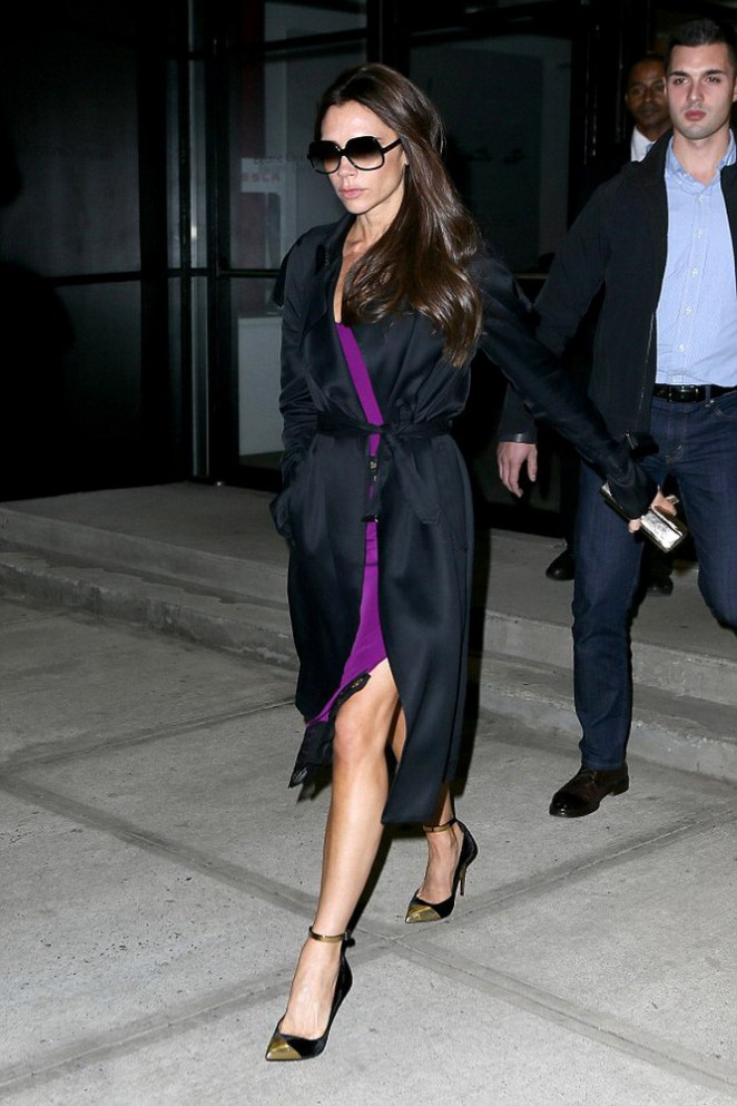 Victoria Beckham: Out in NYC-06
