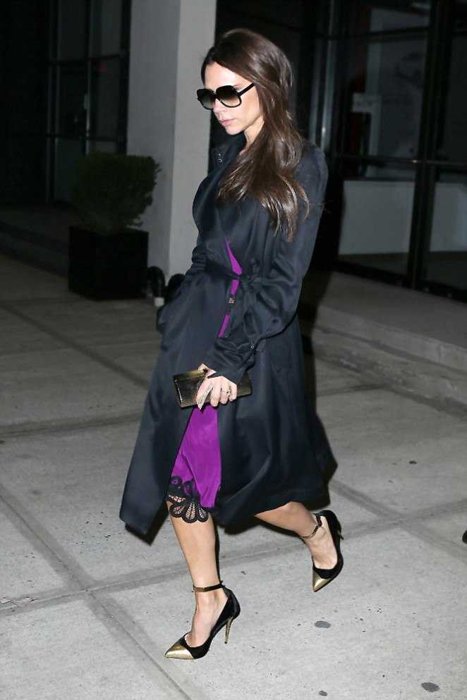 Victoria Beckham: Out in NYC-07