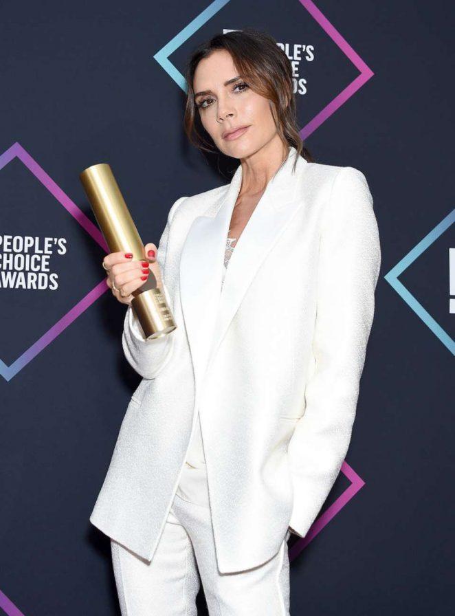 Victoria Beckham - People's Choice Awards 2018 in Santa Monica