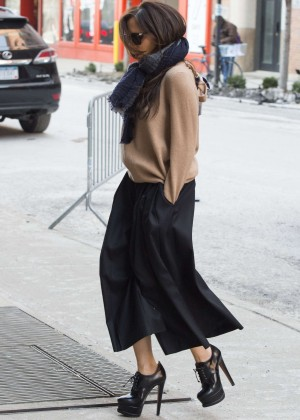 Victoria Beckham Style - Out and about in NYC