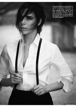 Victoria Beckham - Vogue Germany Magazine (November 2015)