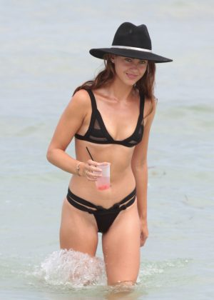 Victoria Edwards - Hot in a Bikini in Miami Beach