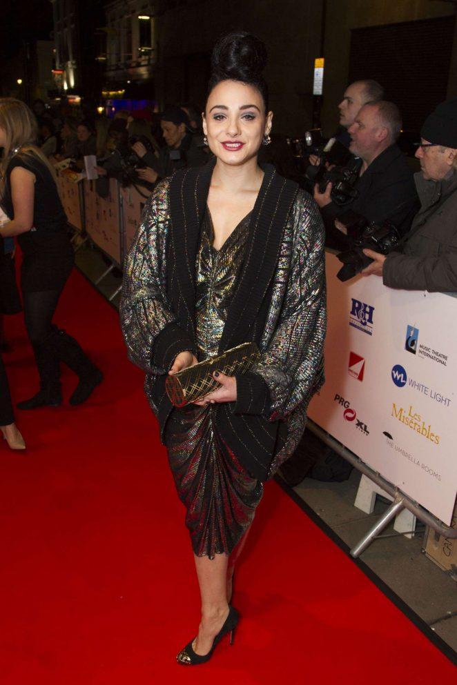 Victoria Hamilton-Barritt – 2017 WhatsOnStage Awards Concert Awards in London
