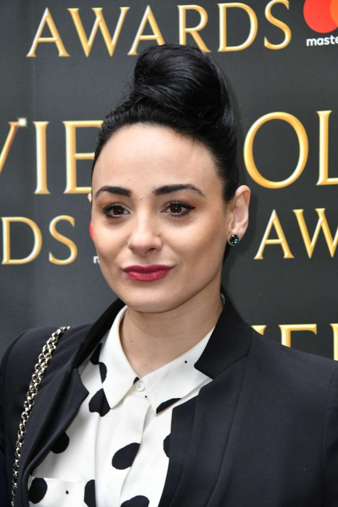 Victoria Hamilton-Barritt - The Olivier Awards Nominees Luncheon in London