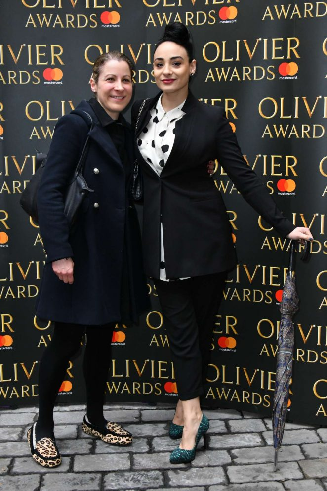 Victoria Hamilton-Barritt: The Olivier Awards Nominees Luncheon -02