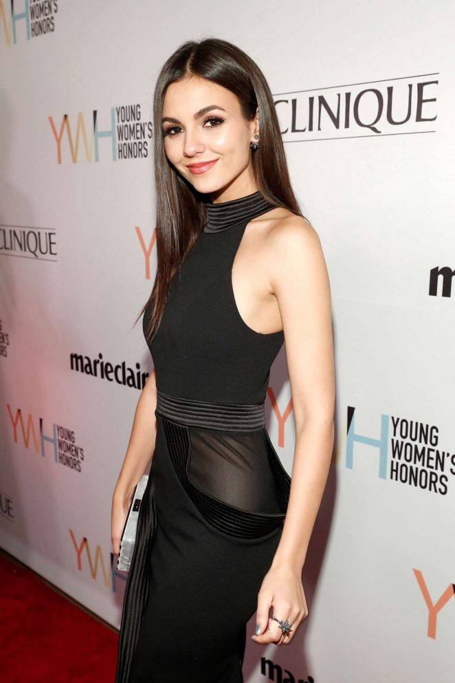 Victoria Justice - 1st Annual Marie Claire Young Women's Honors in Marina Del Rey
