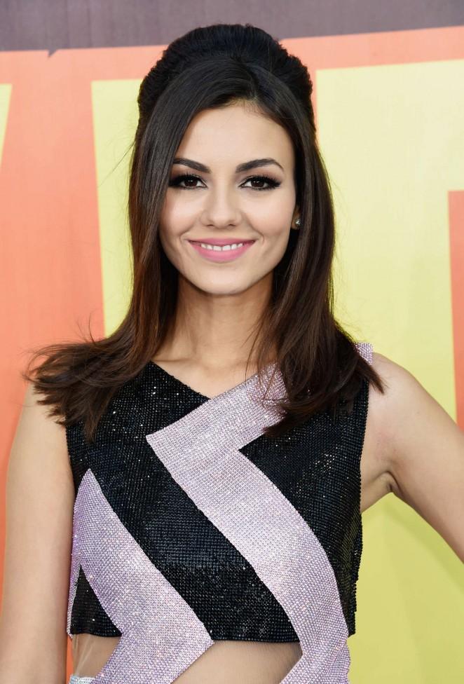 Victoria Justice - 2015 MTV Movie Awards in LA