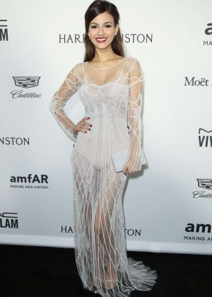Victoria Justice - 2016 amfAR Inspiration Gala in Los Angeles