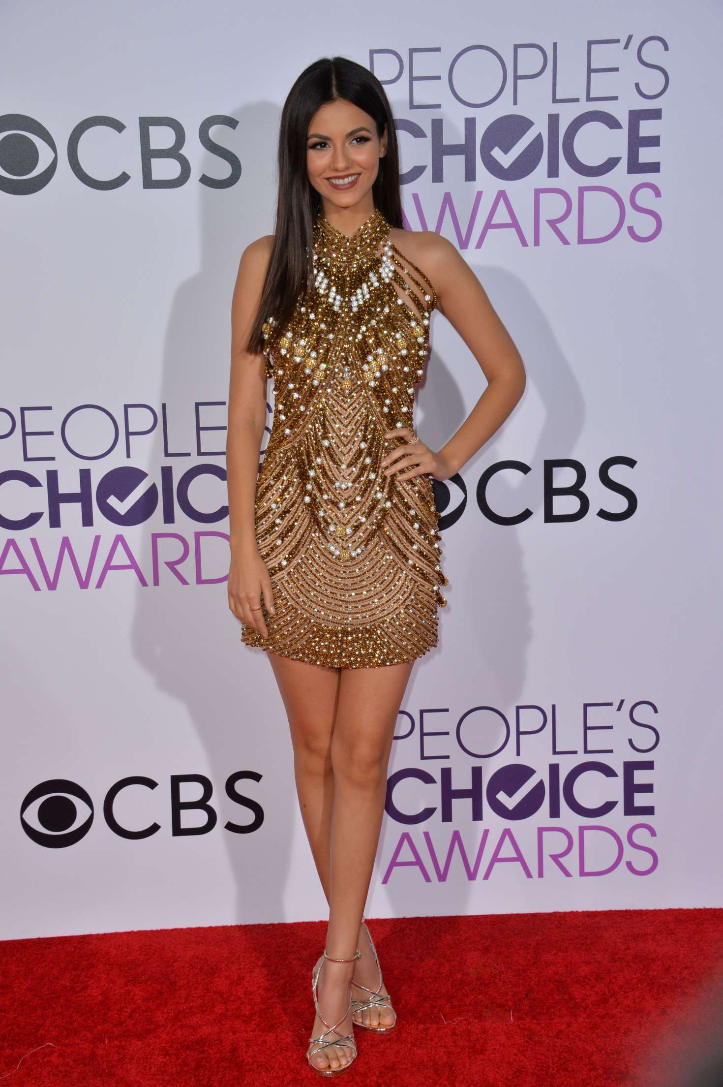 Victoria Justice: 2017 Peoples Choice Awards -16 - GotCeleb