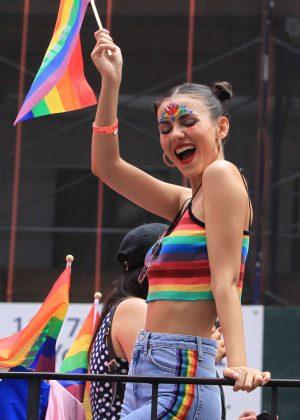 Victoria Justice - 2018 Gay Pride Parade in New York City