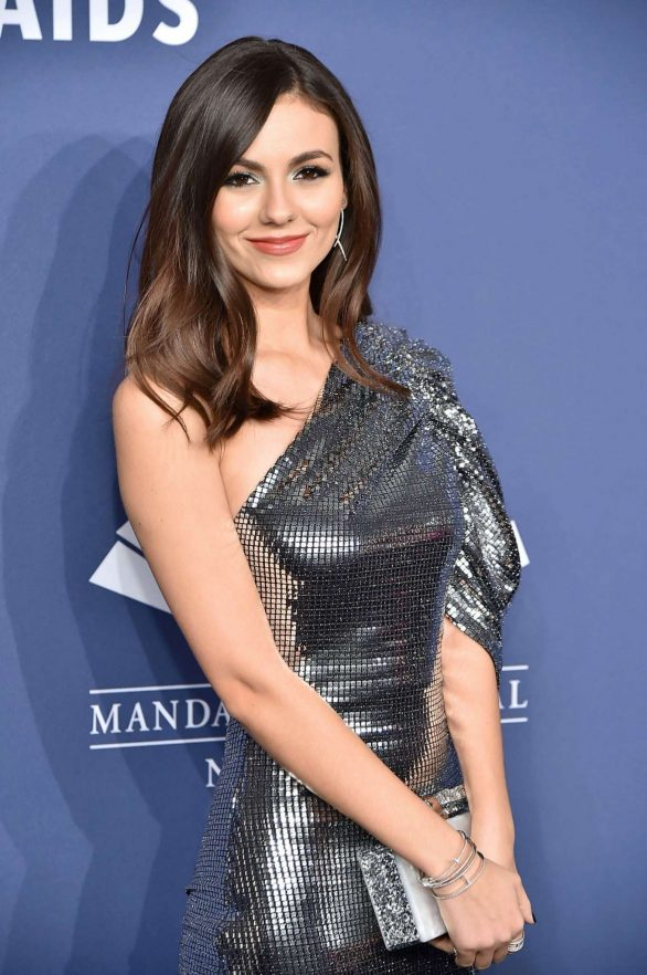 Victoria Justice - 22nd annual amfAR Gala Benefit for AIDS Research in NYC