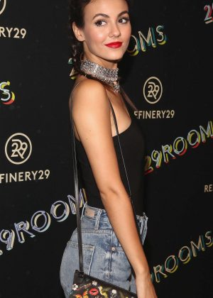 Victoria Justice - 2nd Annual Refinery29 29Rooms: Powered By People in NYC