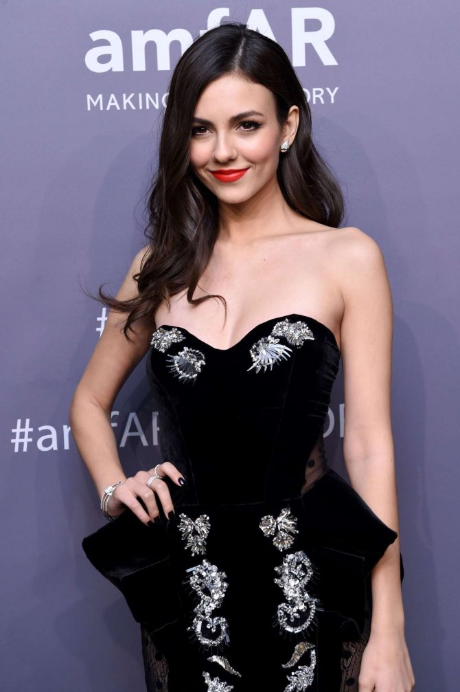 Victoria Justice - amfAR New York Gala 2019 in NYC