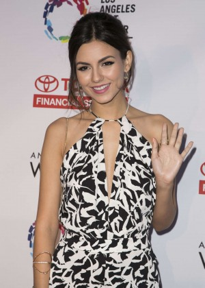 Victoria Justice - An Evening with Women benefiting the Los Angeles LGBT Center in LA
