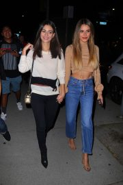 Victoria Justice and Madison Reed - Arriving at the Love Leo Rescue Fundraiser in Los Angeles