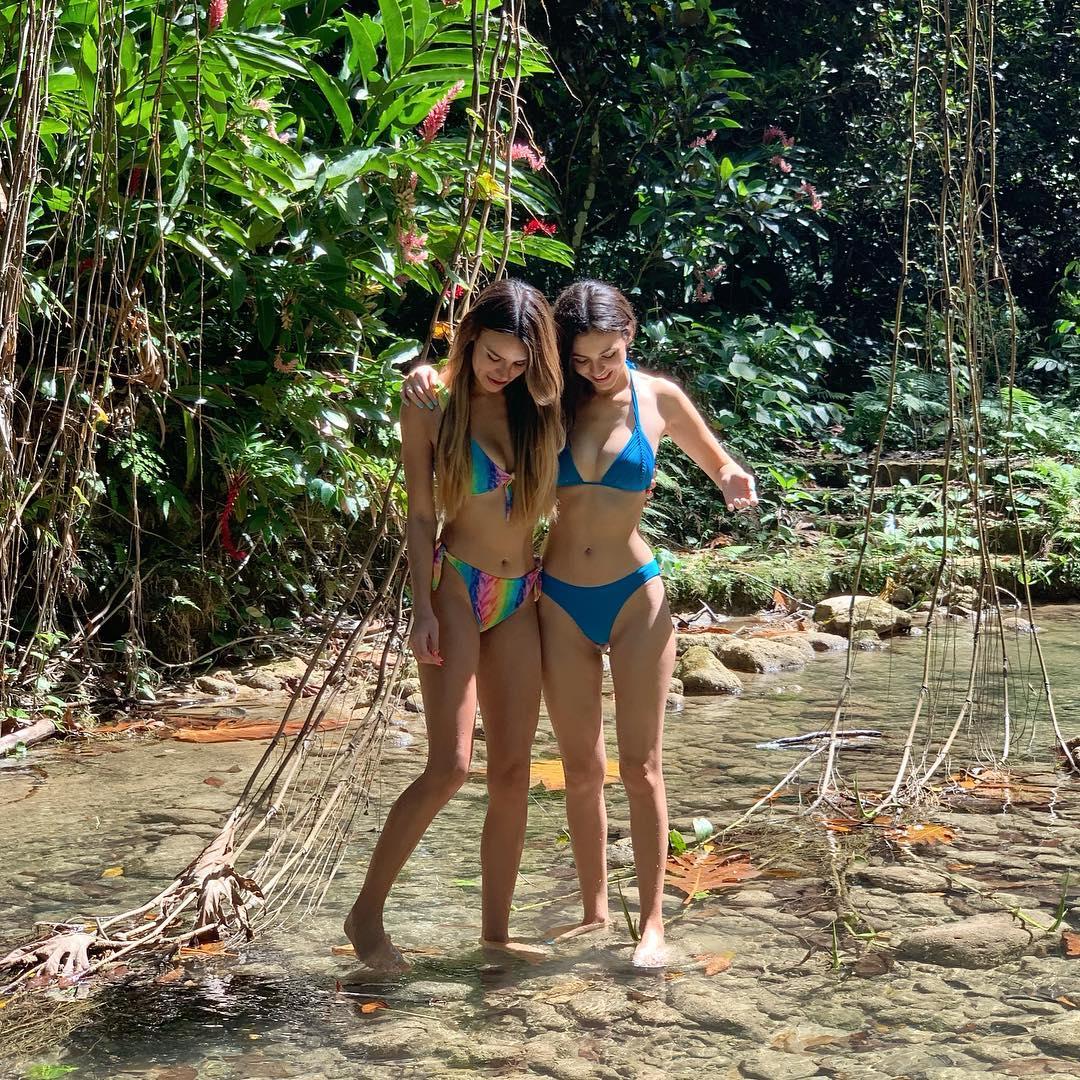 Victoria Justice and Madison Reed in Bikini: Personal Pics -04