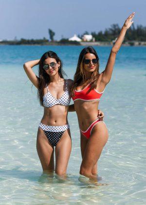 Victoria Justice and Madison Reed in Bikini - Revolve Summer Even in Bermuda