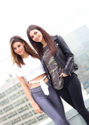 Victoria Justice and Madison Reed - iRoseXMaddyGrace Event in Los Angeles