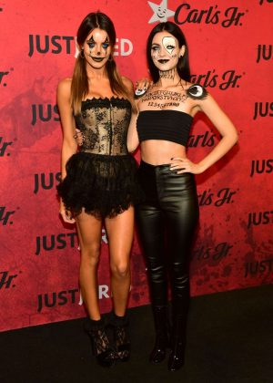 Victoria Justice and Madison Reed - Just Jared's 7th Annual Halloween Party in LA