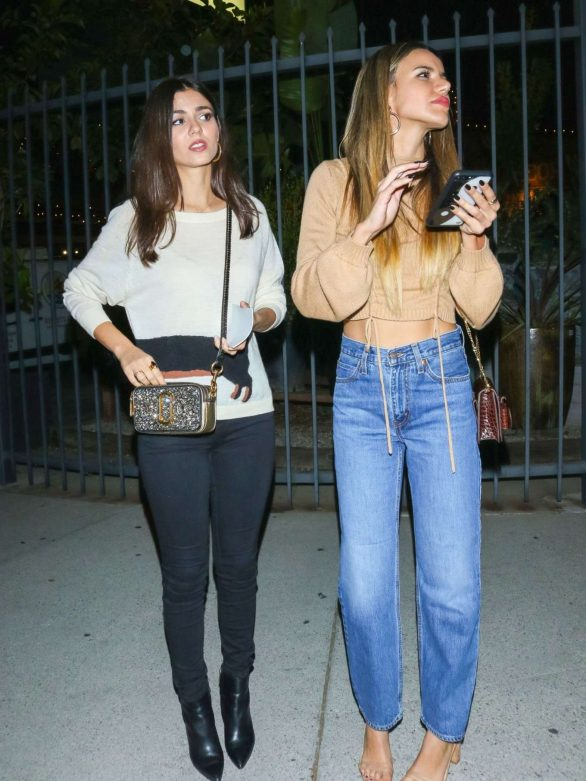 Victoria Justice and Madison Reed - Leaving the Love Leo Rescue Fundraiser in LA