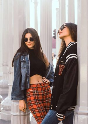 Victoria Justice and Madison Reed - Mike Richy and Truman Mylin Photoshoot at LACMA 2017
