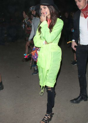 victoria justice and madison reed neon carnival held at 2017