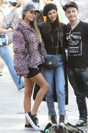 Victoria Justice and Madison Reed - Out and about in Venice