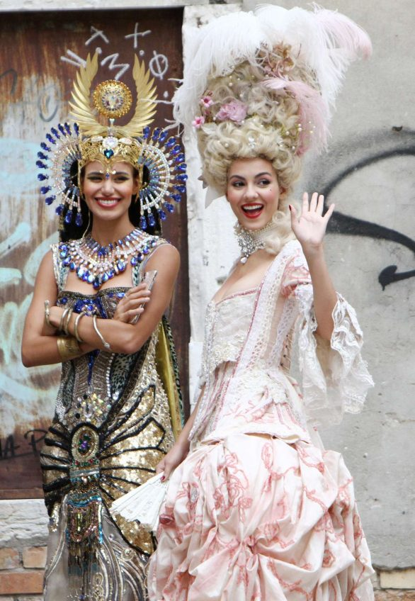 Victoria Justice and Madison Reed - Photoshoot by stylist Antonia Sautter in Venice