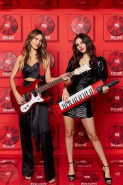 Victoria Justice and Madison Reed - Red Light Management Grammy After Party 2020 Photobooth
