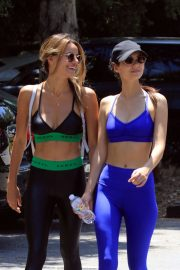 Victoria Justice and Madison Reed - Seen while heading to the gym in LA