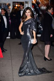 Victoria Justice - Arrives at the Amfar Gala in New York City