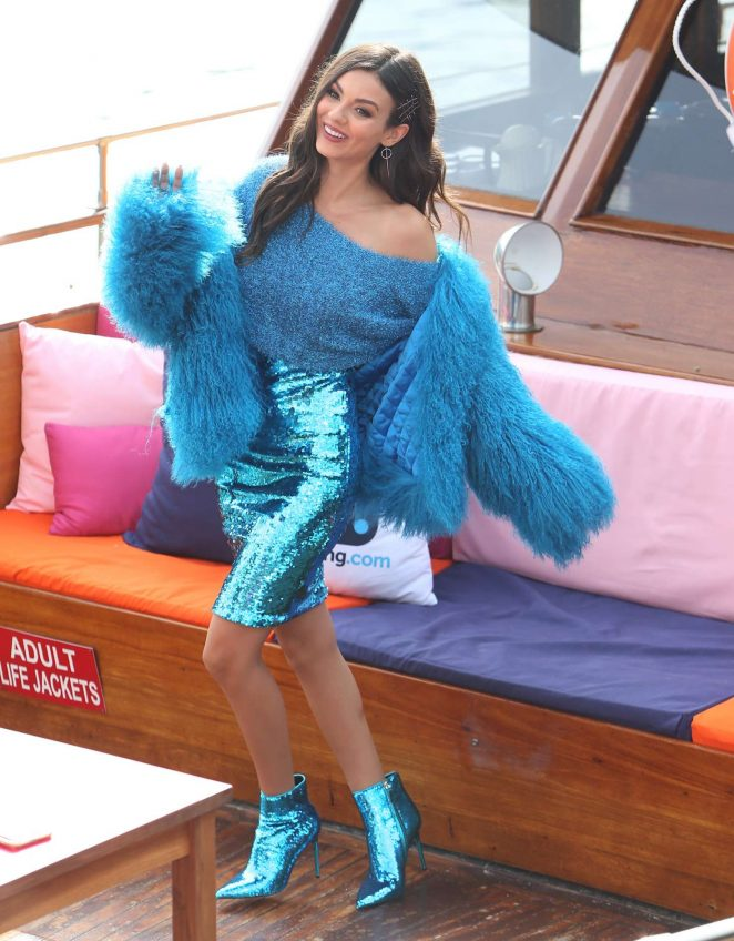 Victoria Justice - Arrives to Alice + Olivia Fashion Show in New York