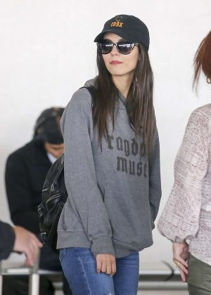 Victoria Justice - Arriving at LAX Airport in Los Angeles