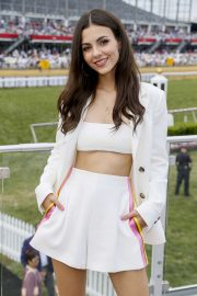 Victoria Justice at the Preakness Stakes in Baltimore adds