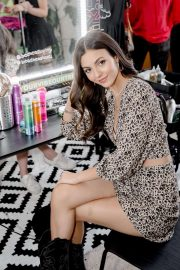 Victoria Justice - Bed Head Festival Pop-Up at the Freehand Hotel in Chicago