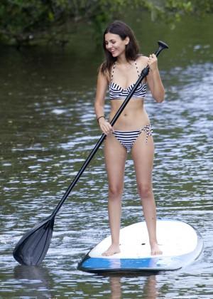 Victoria Justice in Black Bikini -08