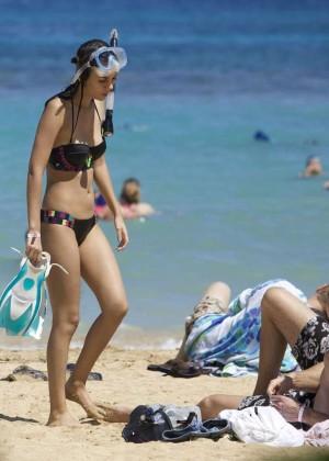 Victoria Justice in Black Bikini -28