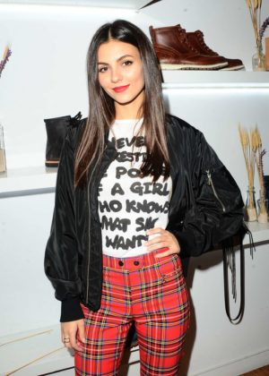 Victoria Justice - Bollare Holiday Harvest x Timberland Fall Style Event in Beverly Hills