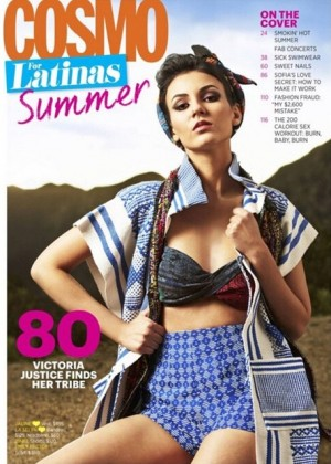 Victoria Justice - Cosmo for Latinas Magazine (May 2015)