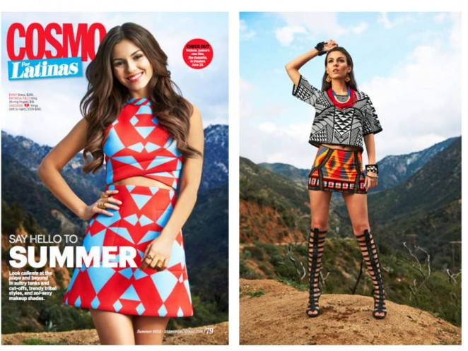Victoria Justice - Cosmo for Latinas (May 2015)