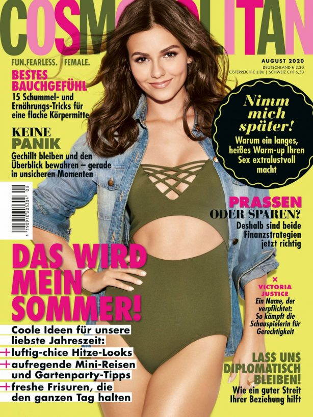 Victoria Justice - Cosmopolitan Germany Magazine (August 2020)