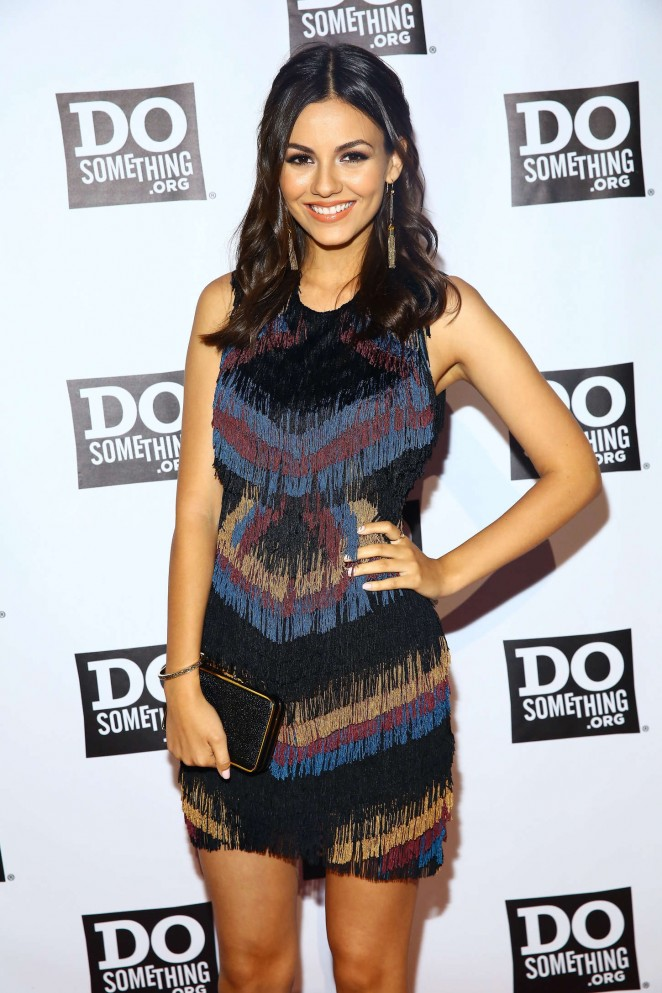 Victoria Justice - DoSomething.org Spring Dinner in NY