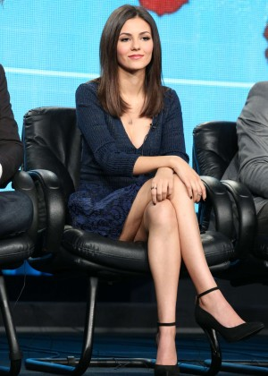 "Victoria Justice - ""Eye Candy"" Panel TCA Press Tour in Pasadena"