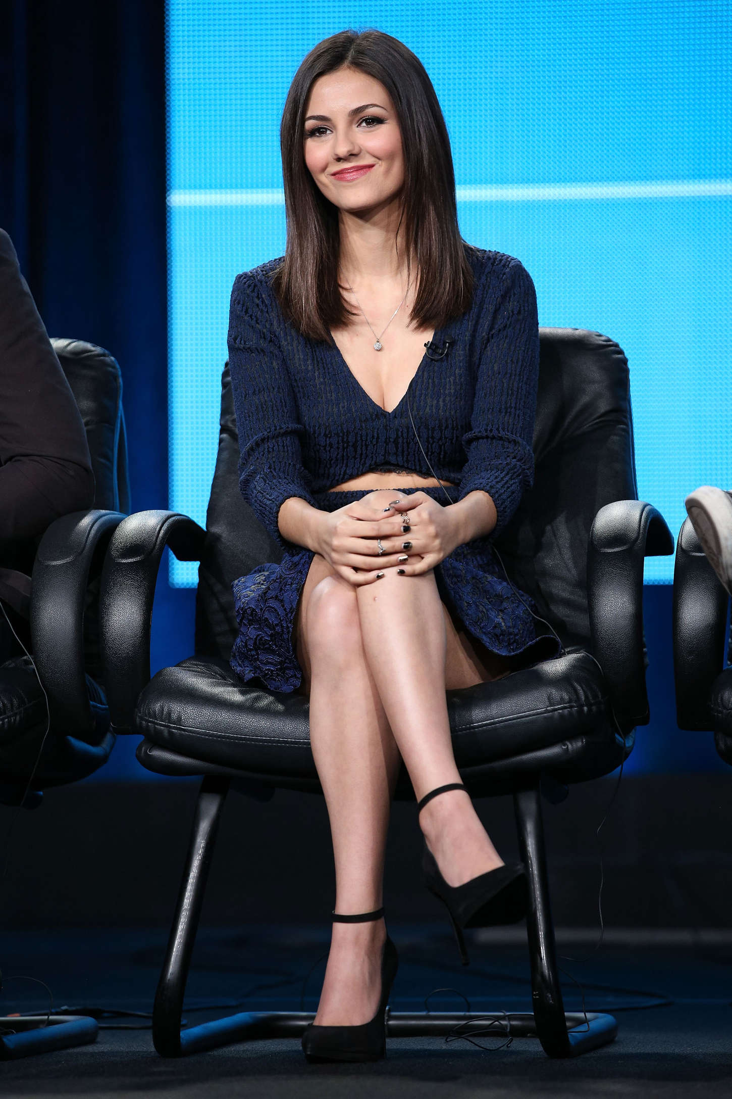 Eye Candy Nails Training: Victoria Justice: Eye Candy Panel TCA Press Tour 2015 -19