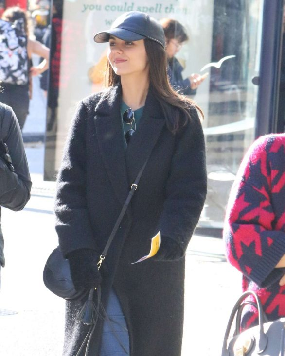 Victoria Justice - Filming '50 Shades of Fright' in Vancouver