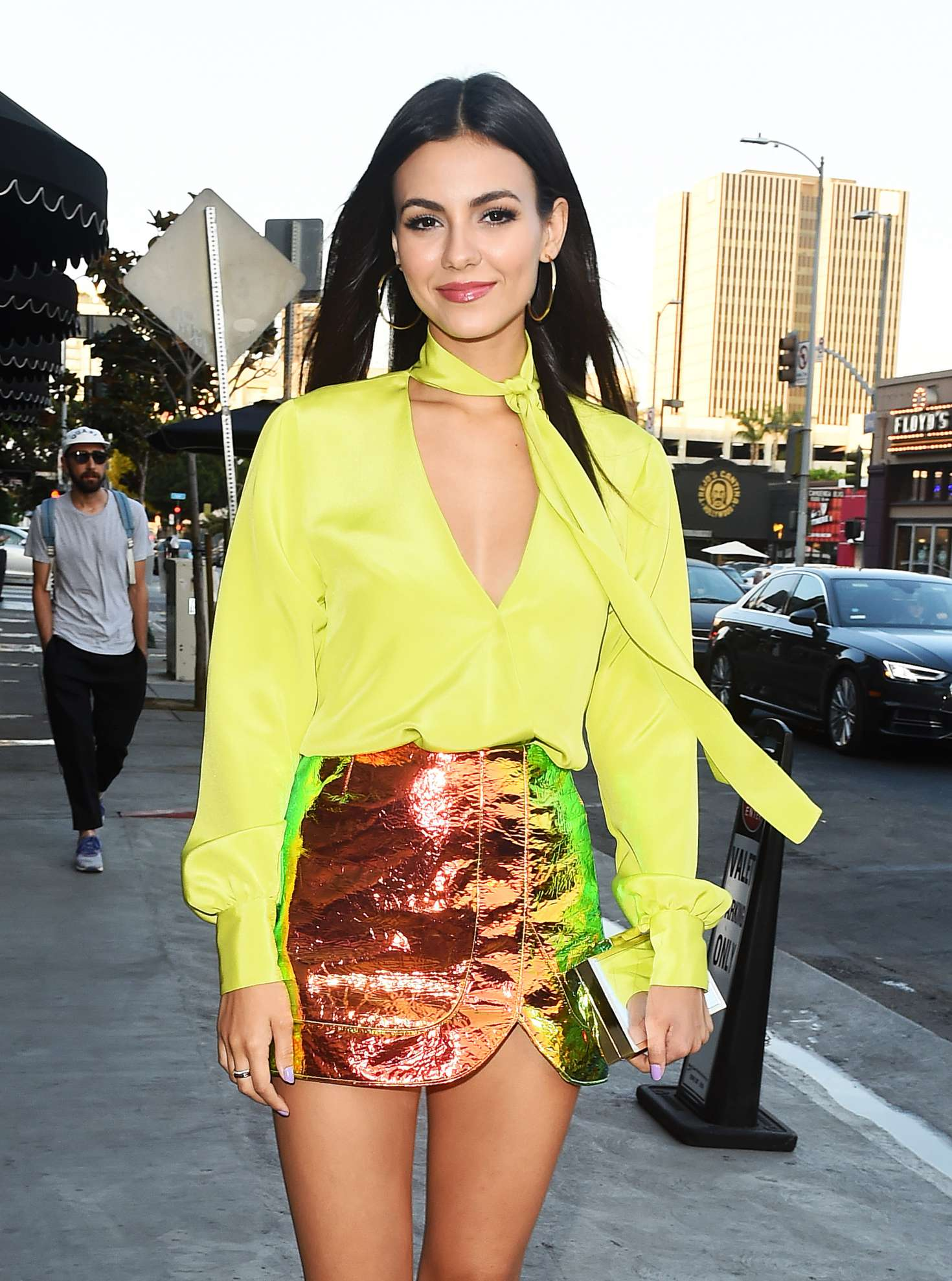 Victoria Justice - Goes to The Highlight Room Opening in Hollywood