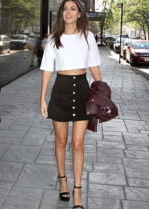 Victoria Justice - 'Good Day New York' in NYC