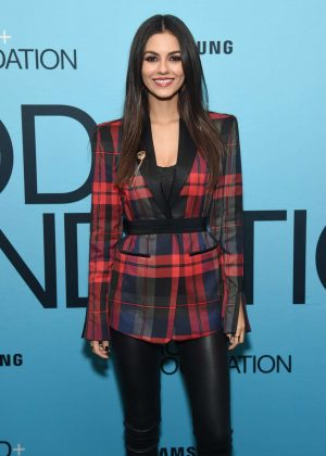 Victoria Justice - GOOD+Foundation's Evening of Comedy+Music Benefit in NY