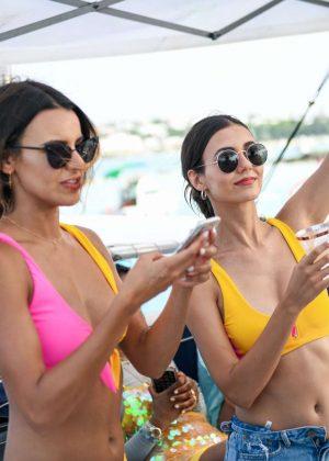 92dd8c721b74e Victoria Justice in Bikini – Revolve Summer Event in Bermuda – GotCeleb