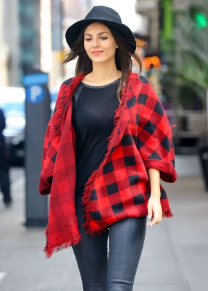 Victoria Justice in Tight Jeans Out in NYC